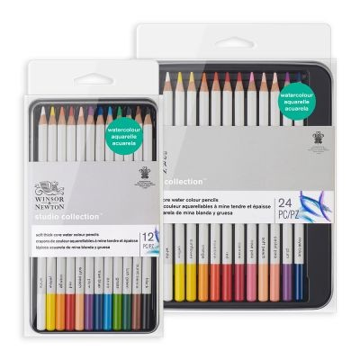 Winsor & Newton Studio Collection Water Colour Pencil Sets